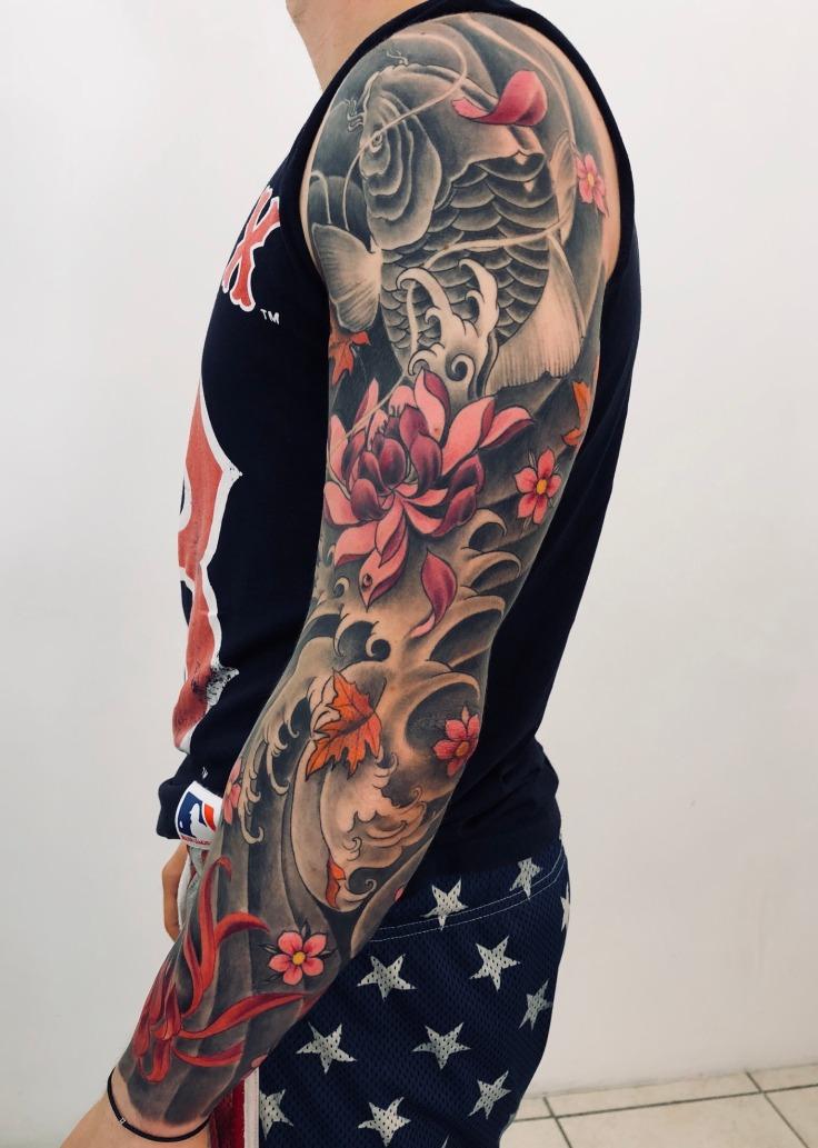 Il continente asiatico sulla pelle grazie ai japanese tattoo